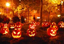 La Ronde d'Halloween des enfants