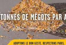 1er Octobre 2015 ouverture officielle de la chasse aux mégots de cigarettes jetés sur la voie publique.