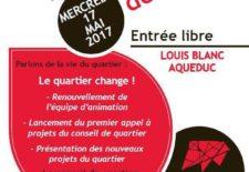 Conseil de Quartier Louis Blanc Acqueduc Mercredi 17 Mai à 19h